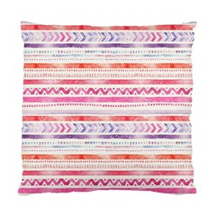 Watercolor Tribal Pattern Standard Cushion Case (one Side)