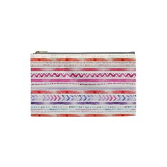 Watercolor Tribal Pattern Cosmetic Bag (small)