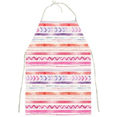 Watercolor Tribal Pattern Full Print Aprons