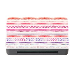 Watercolor Tribal Pattern Memory Card Reader With Cf