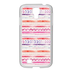 Watercolor Tribal Pattern Samsung Galaxy S4 I9500/ I9505 Case (white) by tarastyle