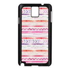 Watercolor Tribal Pattern Samsung Galaxy Note 3 N9005 Case (black)