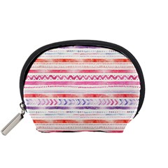 Watercolor Tribal Pattern Accessory Pouches (small)