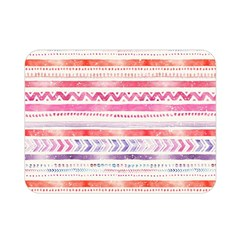 Watercolor Tribal Pattern Double Sided Flano Blanket (mini)  by tarastyle