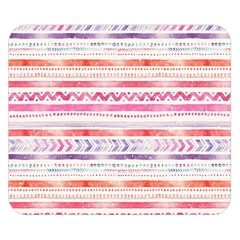 Watercolor Tribal Pattern Double Sided Flano Blanket (small)