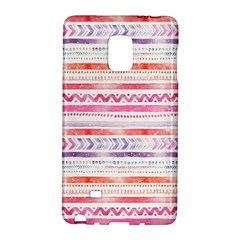 Watercolor Tribal Pattern Galaxy Note Edge by tarastyle