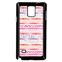 Watercolor Tribal Pattern Samsung Galaxy Note 4 Case (black)