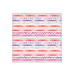 Watercolor Tribal Pattern Satin Bandana Scarf