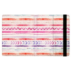 Watercolor Tribal Pattern Apple Ipad Pro 12 9   Flip Case