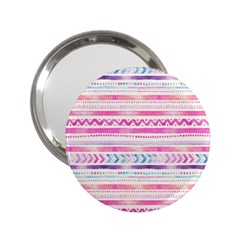 Watercolor Tribal Pattern  2 25  Handbag Mirrors