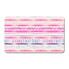 Watercolor Tribal Pattern  Magnet (rectangular)