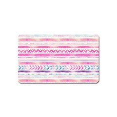 Watercolor Tribal Pattern  Magnet (name Card)