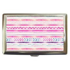 Watercolor Tribal Pattern  Cigarette Money Cases