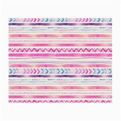 Watercolor Tribal Pattern  Small Glasses Cloth