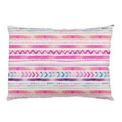 Watercolor Tribal Pattern  Pillow Case