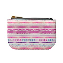 Watercolor Tribal Pattern  Mini Coin Purses