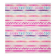 Watercolor Tribal Pattern  Shower Curtain 66  X 72  (large)