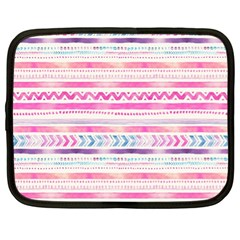 Watercolor Tribal Pattern  Netbook Case (xl)
