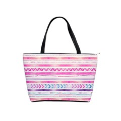 Watercolor Tribal Pattern  Shoulder Handbags