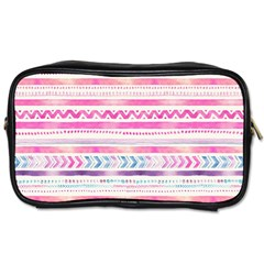 Watercolor Tribal Pattern  Toiletries Bags 2 Side