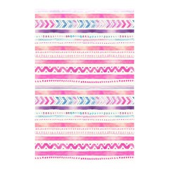 Watercolor Tribal Pattern  Shower Curtain 48  X 72  (small)