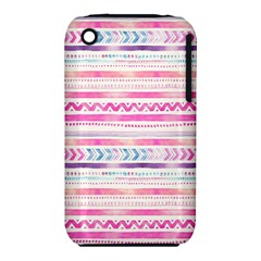 Watercolor Tribal Pattern  Iphone 3s/3gs by tarastyle