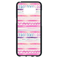 Watercolor Tribal Pattern  Samsung Galaxy S8 Black Seamless Case by tarastyle