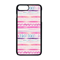 Watercolor Tribal Pattern  Apple Iphone 8 Plus Seamless Case (black) by tarastyle