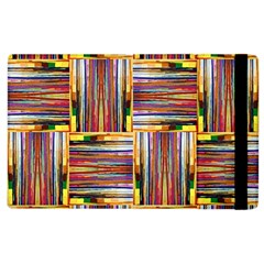 Artwork By Patrick Squares 3 Apple Ipad 3/4 Flip Case by ArtworkByPatrick