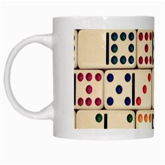 Old Domino Stones White Mugs