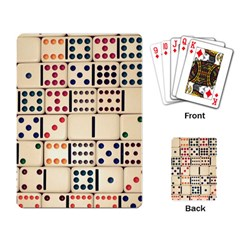 Old Domino Stones Playing Card by Sapixe