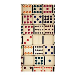 Old Domino Stones Shower Curtain 36  X 72  (stall)  by Sapixe