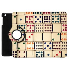 Old Domino Stones Apple Ipad Mini Flip 360 Case by Sapixe