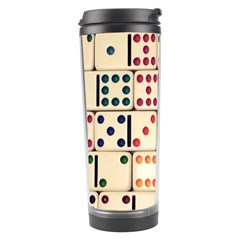 Old Domino Stones Travel Tumbler by Sapixe