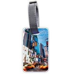 New York City Luggage Tags (one Side)  by Sapixe