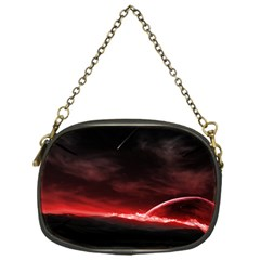 Outer Space Red Stars Star Chain Purses (one Side)  by Sapixe