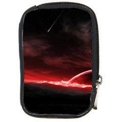 Outer Space Red Stars Star Compact Camera Cases by Sapixe