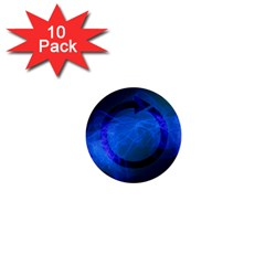 Particles Gear Circuit District 1  Mini Buttons (10 Pack)