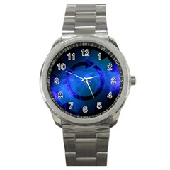 Particles Gear Circuit District Sport Metal Watch