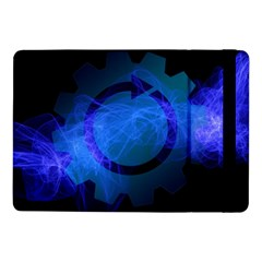 Particles Gear Circuit District Samsung Galaxy Tab Pro 10 1  Flip Case by Sapixe