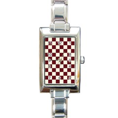 Pattern Background Texture Rectangle Italian Charm Watch
