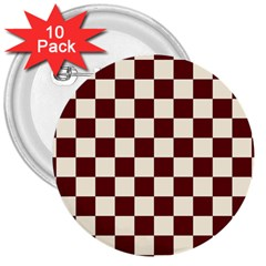 Pattern Background Texture 3  Buttons (10 pack)