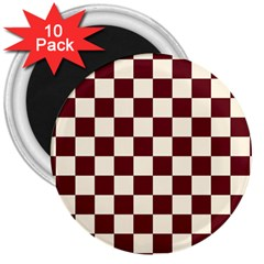 Pattern Background Texture 3  Magnets (10 pack)