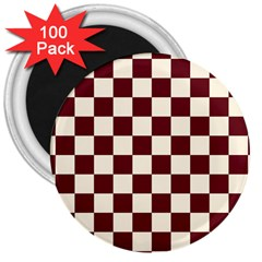 Pattern Background Texture 3  Magnets (100 pack)