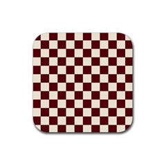 Pattern Background Texture Rubber Square Coaster (4 pack)