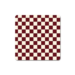 Pattern Background Texture Square Magnet by Sapixe