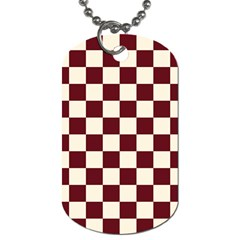 Pattern Background Texture Dog Tag (One Side)