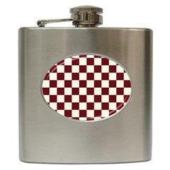 Pattern Background Texture Hip Flask (6 oz)