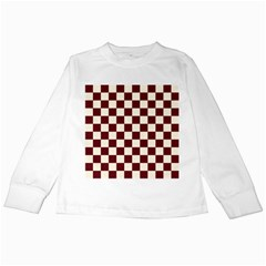 Pattern Background Texture Kids Long Sleeve T-Shirts
