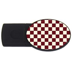 Pattern Background Texture USB Flash Drive Oval (4 GB)